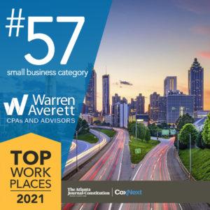 Top Atlanta Workplaces Warran Averett