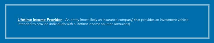 Warren Averett Lifetime Income Provider definition image