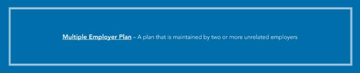 Warren Averett Multiple Employer Plan definition image